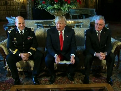 McMaster Named Trump