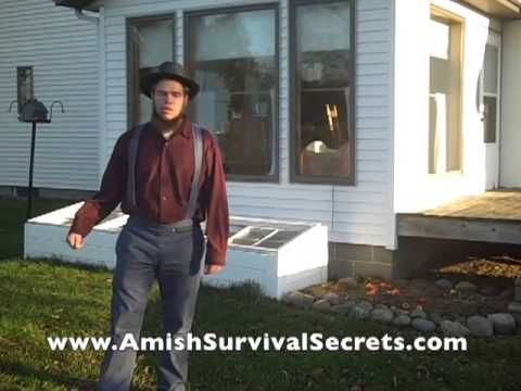 Amish Sustainable Living and How The Amish Live OFF The Grid Without Electricity