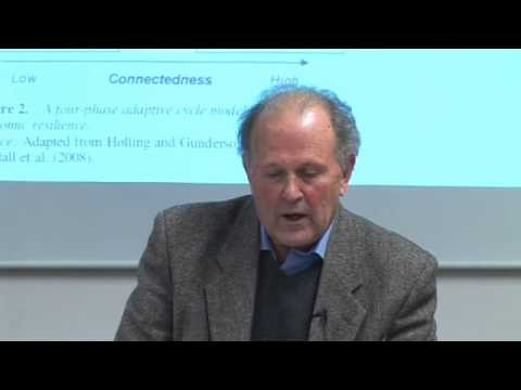 James Simmie: Resilience and adaptation in complex city systems