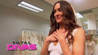 Brie Bella goes shopping for a wedding dress: Total Divas, May 4, 2014