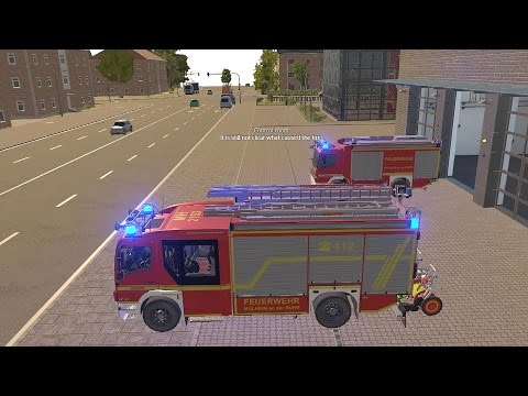 Download Youtube: Emergency Call 112 – Fire Engine and Ladder Truck Responding! 4K
