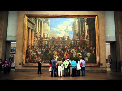Paris, Le musée du Louvre  (Full HD)