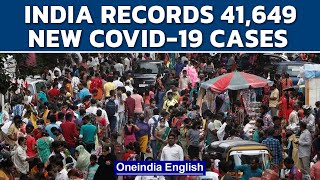 India records 41,649 lakh fresh cases and 593 deaths  Covid-19   Oneindia News