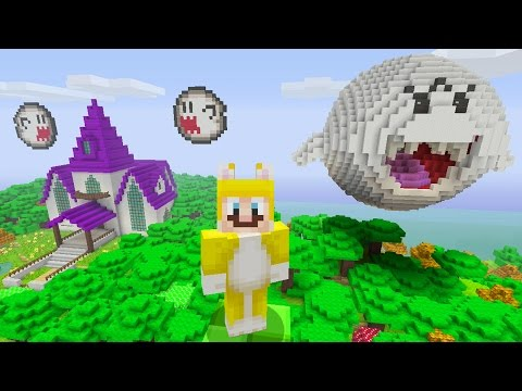 Minecraft: Super Mario Edition - Ghost House {3}