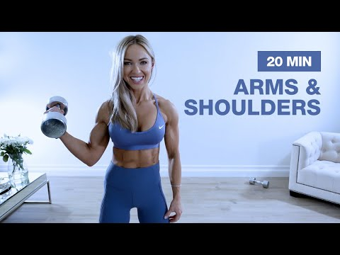 20 MIN SOLID ARMS & SHOULDER WORKOUT with Dumbbells