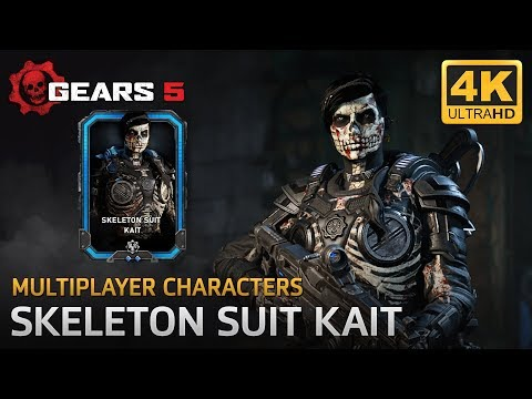 Gears 5 - Multiplayer Characters: Skeleton Suit Kait