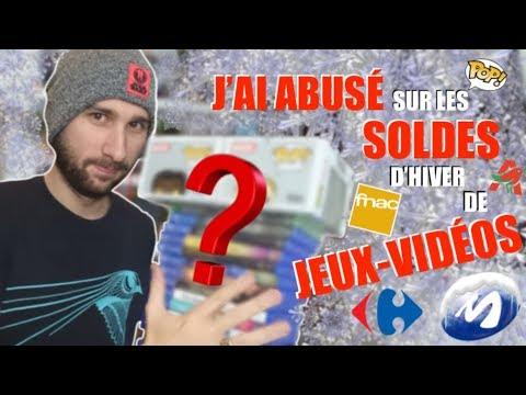 J'AI ABUSÉ SUR LES SOLDES D'HIVER DE JEUX-VIDÉOS !