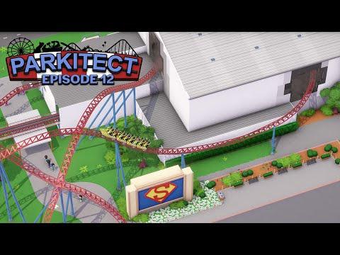 Parkitect: Superman Escape Roller Coaster - EP 12 -  