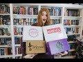 MASSIVE BOOK BOX UNBOXING | Fae Crate, Enchanted Book Box, NOVL box & Owl Crate