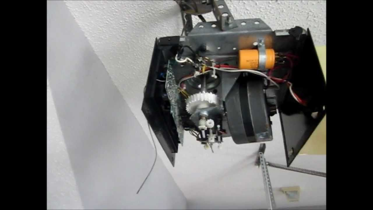 7 Gear Fix For Lift Master And Chamberlain Garage Door