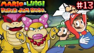 MARIO & LUIGI: PAPER JAM BROS. Part 13 - ROY AND WENDY KOOPA BOSS BATTLE! [ENGLISH]