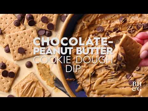 Peanut Butter-Chocolate Cookie Dough Dip | Cooking: How-To | Better Homes & Gardens