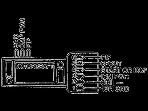 0014 Probador De Sensores Parte 14 Distribuidor De Ford