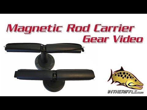 SMT Magnetic Fly Fishing Rod Carrier And Vehicle Rod Mount