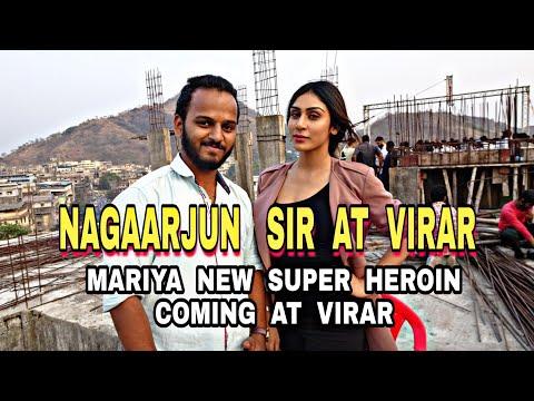 Akkineni Nagarjuna Sir At Virar Mumbai | Chaitanya Chawkekar | Marathi Vlogger