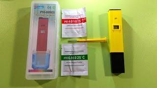 PH метр PH-009 (ручка для определения и измерения PH) ► Посылка из Китая / AliExpress(, 2016-04-09T20:35:41.000Z)