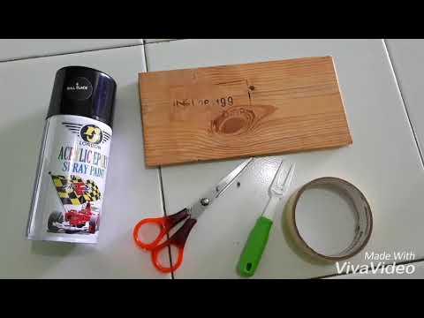 Cara Membuat Hiasan Dapur