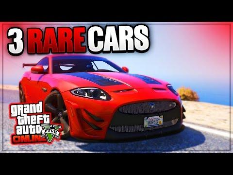 GTA 5 Online: 'RARE CARS FREE LOCATIONS 1.38' GTA 5 SECRET VEHICLES! (PS4, Xbox One, PS3, Xbox 360)
