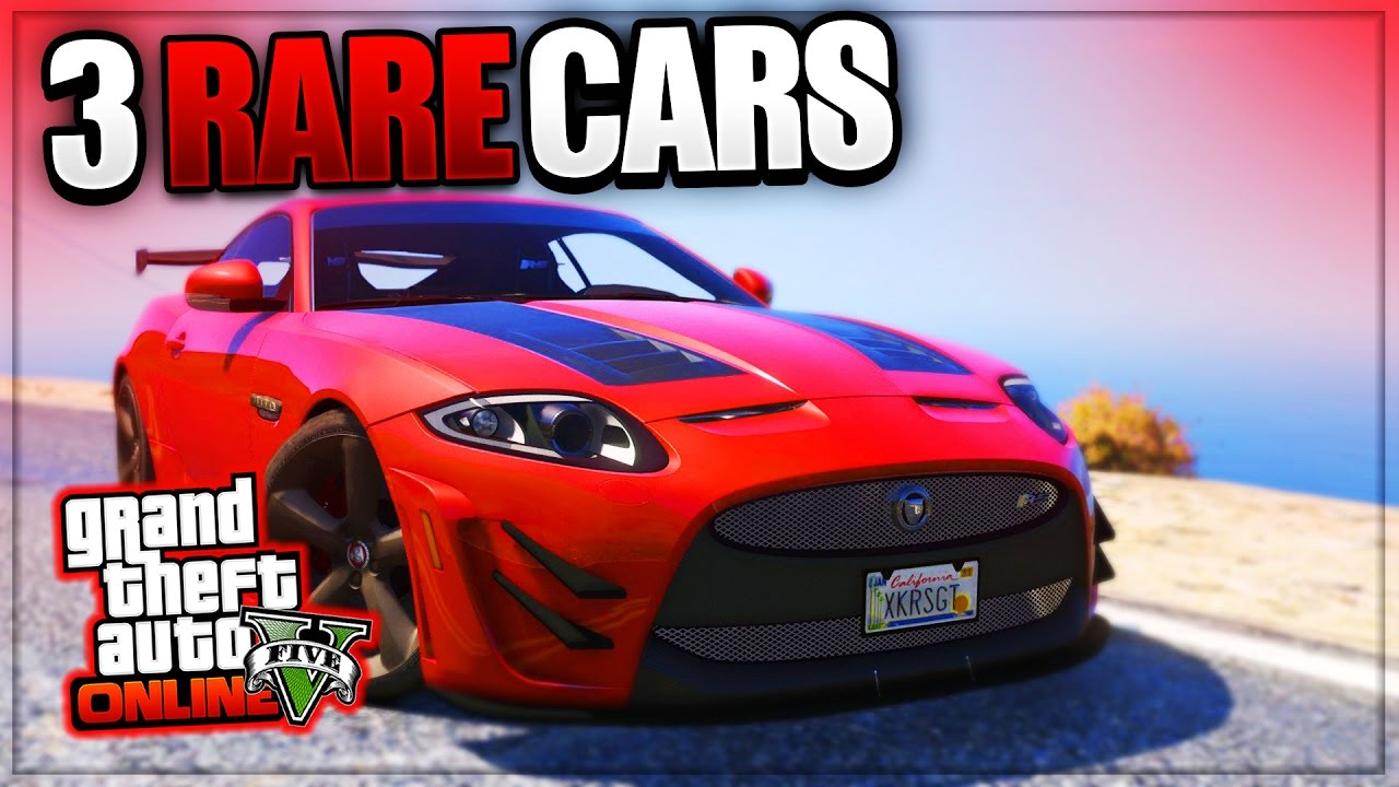 GTA 5 Online: 'RARE CARS FREE LOCATIONS 1 38' GTA 5 SECRET VEHICLES! (PS4,  Xbox One, PS3, Xbox 360)