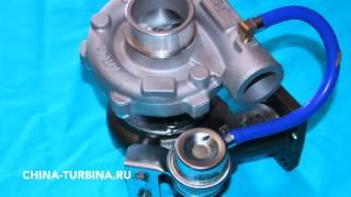 Турбокомпрессор модель GT25 турбина двигатель CA4DF2-13