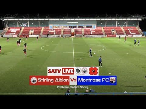 Stirling Montrose Goals And Highlights