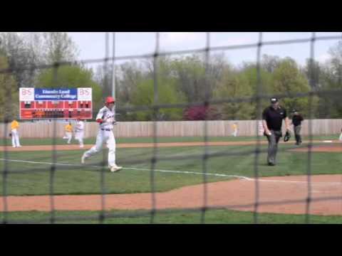 04-18-15 Lincoln Land Baseball Vs Parkland Game 1