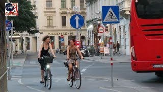 Cycling Postcard From Vienna