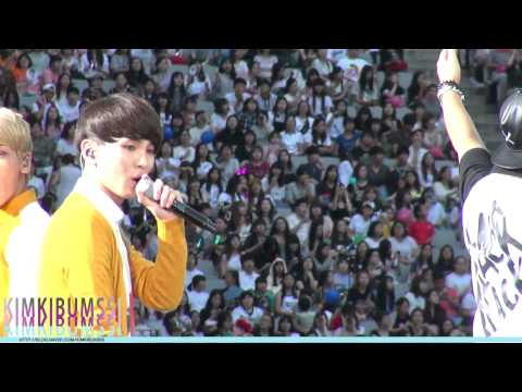 140815 SM TOWN LIVE WORLD TOUR IV IN SEOUL '초록비' - SHINee