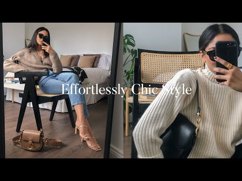 HOW TO DRESS EFFORTLESSLY CHIC | LOOKBOOK - YouTube