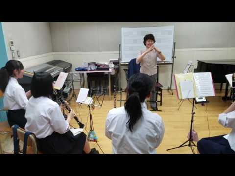 クラリネットが上達するレッスンその2 伊奈先生のレッスンです #音楽専門学校