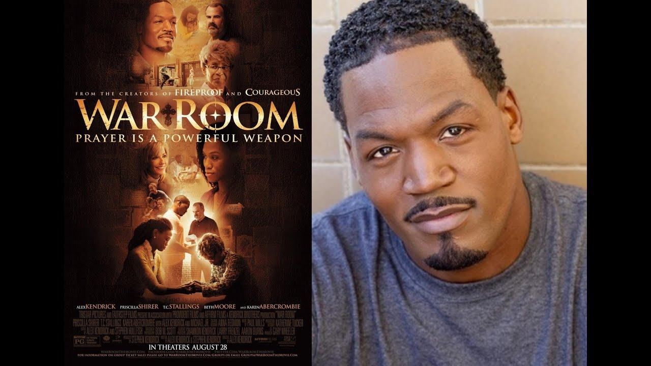 Actor TC STALLINGS Talks About The Movie WAR ROOM on Lady