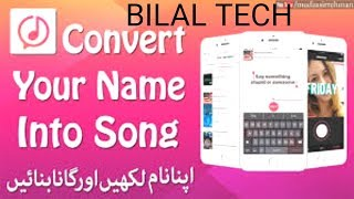Best android app to make song of your name in Urdu/hindi