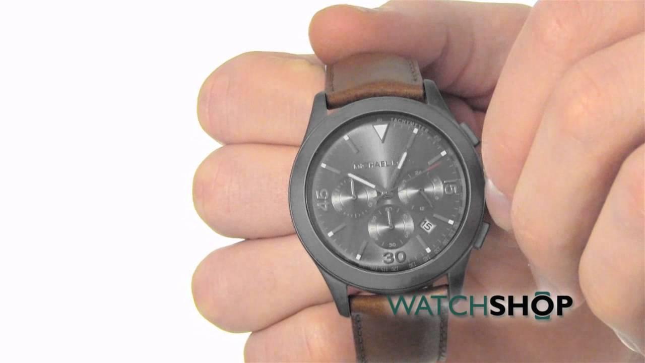 cfb4eb932005 Michael Kors Men s Gareth Chronograph Watch (MK8471) - YouTube