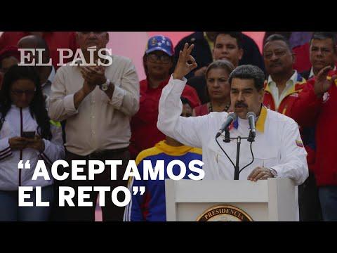 """Nicolás MADURO: """"Vamos a las ELECCIONES""""   Crisis en VENEZUELA"""