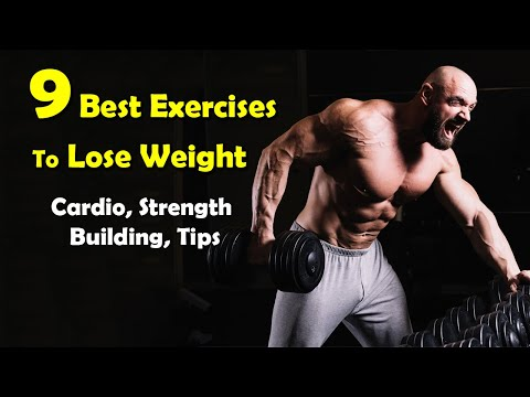 9 Best Cardio Exercises + Strength Training Exercises To Lose Weight at Home