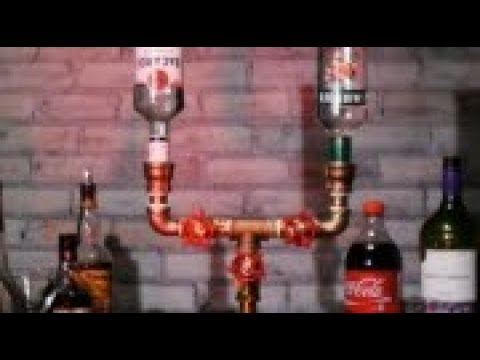 crafty _This DIY booze faucet is what your bar is missing!