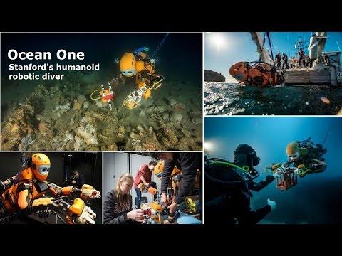 挑戰新聞軍事精華版--史丹福大學開發類人型機器人成功打撈沉船,可作為人類替身探索大海