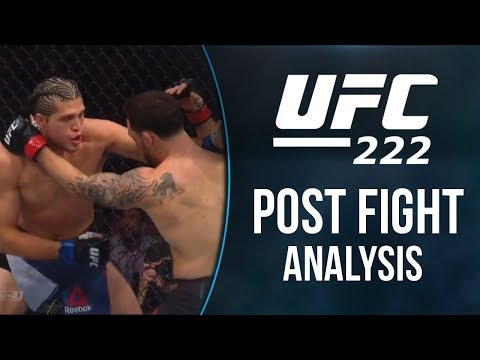 UFC 222: Full Fight Card Results & Analysis