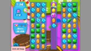 Candy crush SODA SAGA level 124 Bubble bears