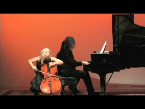 Natalia Khoma & Volodymyr Vynnytsky - David Popper - Ungarischer Rhapsodie, Op. 68