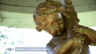 M6 reportage 2019  - Henri Le Sidaner jardins Gerberoy