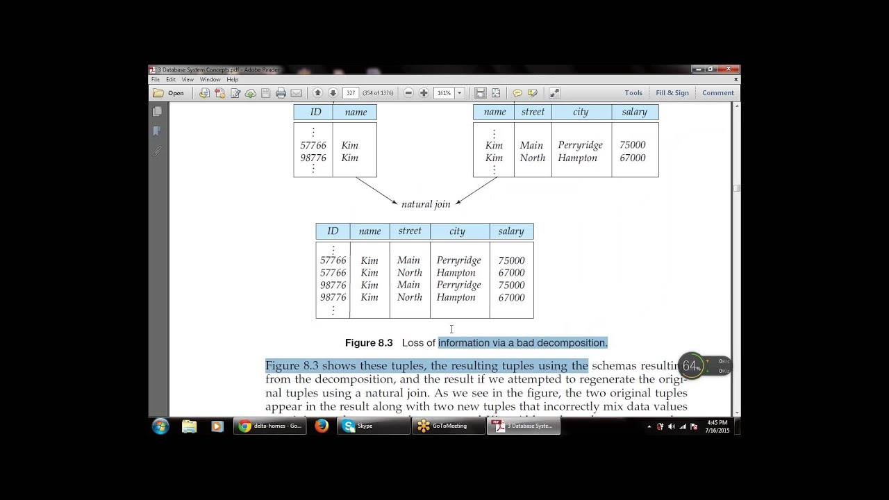 chapter 8 relational database design relational designs - Relational Database Design Software