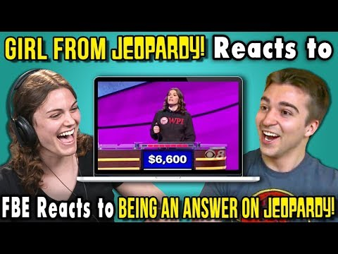 College Kid from Jeopardy Reacts To FBE Reacts To Being A Jeopardy Answer