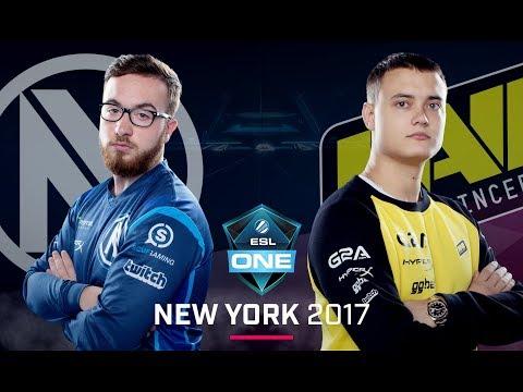CS:GO - EnVyUs vs. Na'Vi [Inferno] Map 1 - Group A Elimination - ESL One New York 2017