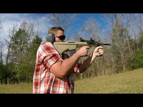 Steyr Aug A3-M1 on the Range