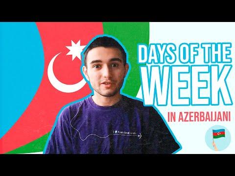 Learn Azerbaijani - Days of the week