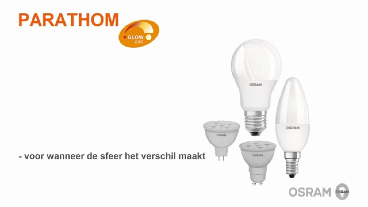 Osram parathom glowdim led lampen youtube osram parathom glowdim led lampen parisarafo Images
