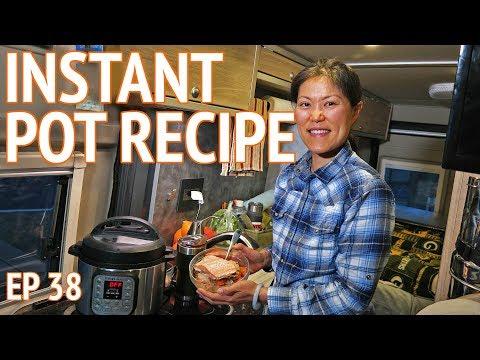 Healthy RV Cooking Instant Pot Recipe | Camper Van Life S1:E38