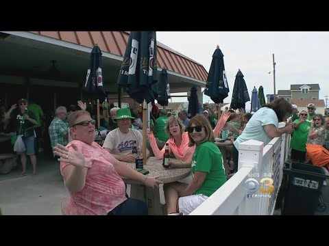 Sea Of Green Hits North Wildwood For Irish Weekend