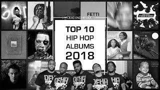 Top 10 Hip-Hop Albums of 2018 | DEHH